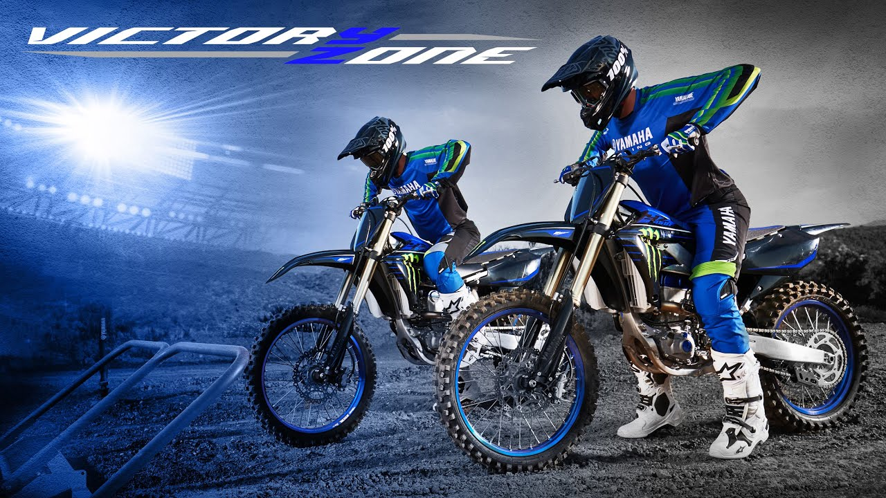 YZ250F & YZ450F Monster Energy® Yamaha Racing Editions