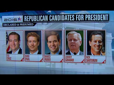 Dickerson on crowded field of 2016 GOP contenders