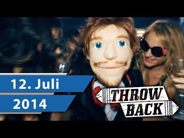 MUSIK CHARTS JULI 2014 –  ED SHEERAN, CLEAN BANDIT & ROBIN SCHULZ I Throwback Thursday