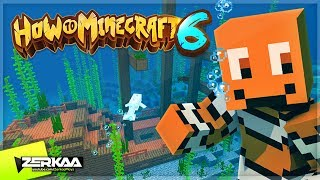 We FOUND A Completely UNTOUCHED SHIPWRECK! (How To Minecraft S6 #9)
