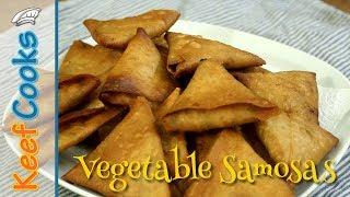 Vegetable Samosas | Homemade Samosas
