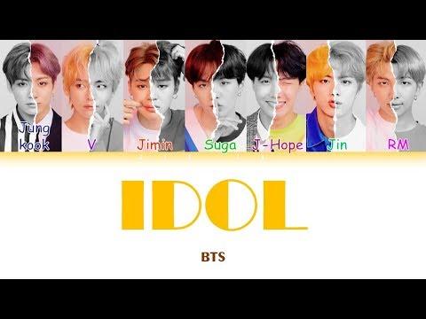 "BTS (방탄소년단) ""IDOL"" (Sub indo) Lirik {Color Coded-Rom-Ind}"