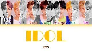 "Baixar BTS (방탄소년단) ""IDOL"" (Sub indo) Lirik {Color Coded-Rom-Ind}"