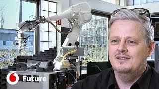 Robots e uma impressora gigante para construir edifícios | Vodafone Future