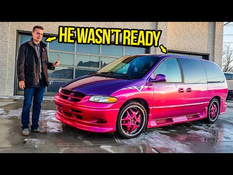 Giving My Friend A 'Pimp My Ride' Minivan For Christmas (SERIES FINALE)