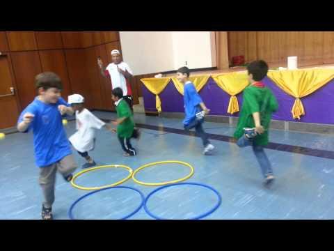 العاب حركية لطلاب نادي السمو بنادي النهضة1434(1)