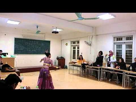 Jaipong Dance by Putri Rachmawati  in Hanoi University of Education, Hanoi, Vietnam