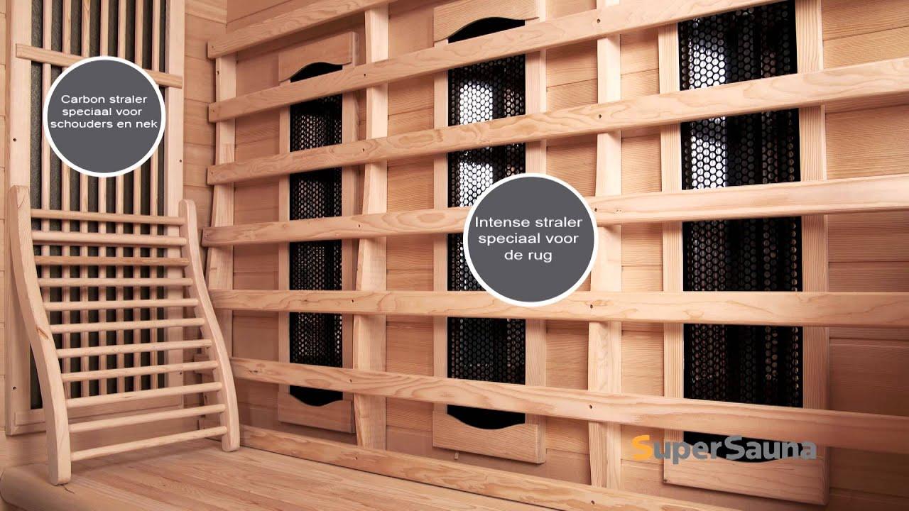 infrarood sauna infraplus 2 trendy youtube. Black Bedroom Furniture Sets. Home Design Ideas