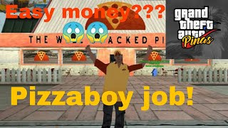 Solid to! Pizza boy job Easy money! | Gta pinas roleplay
