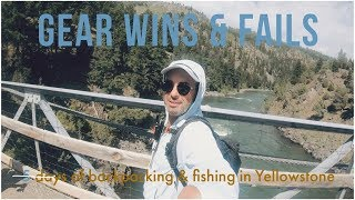 Gear Wins & Fails in the Yellowstone Backcountry