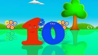 Learn Numbers for children ( Numbers Song) - 3D Animation rhyme
