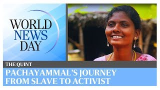 World News Day: Pachayammal's journey from slave to activist in India   The Quint
