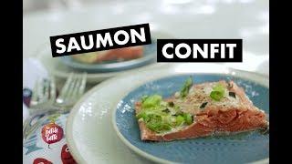 SAUMON CONFIT 🐟Recette cuisine sublime rapide  🐟La Petite bette
