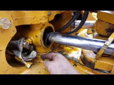 Repair swing cylinder backhoe JD 310 E