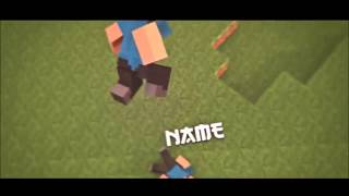 Free iNTRO Minecraft Template #3 | SparkyFX