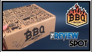 Subscription Spot | BBQ Box October 2017 Subscription UNBOXING!