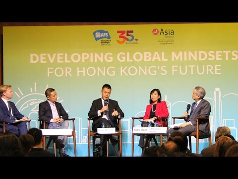 Developing Global Mindsets for Hong Kong's Future
