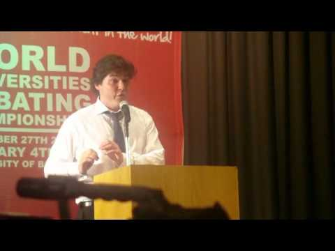 WUDC 2011 Grand Final: This House Would Invade Zimbabwe