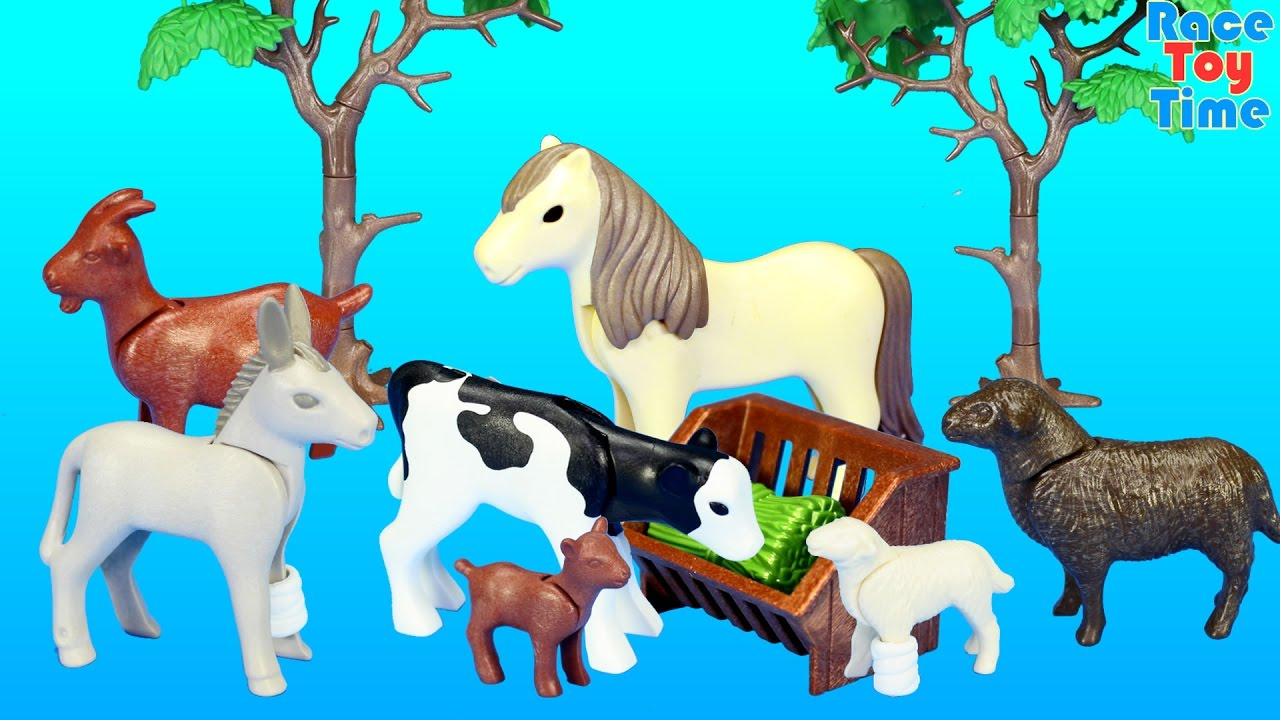 Playmobil Farm Animals Nursery Building Set Toy Build Review