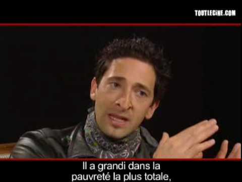 Interview d'Adrien Brody - Manolete