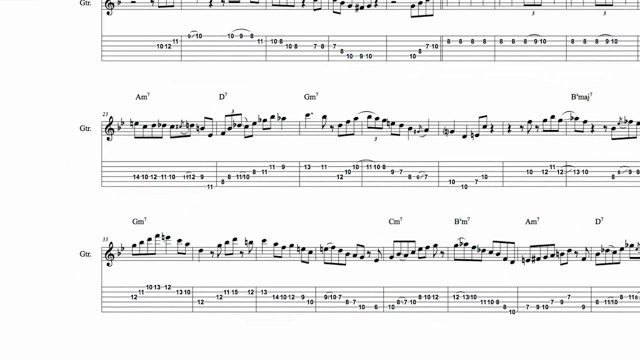 Anatomy of a Guitar Solo 7: Four on Six, Part 1 - Wes Montgomery ...