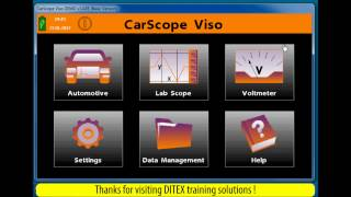 Automotive oscilloscope (Lab Scope) Tool - Testing CKP sensors with CarScope Viso