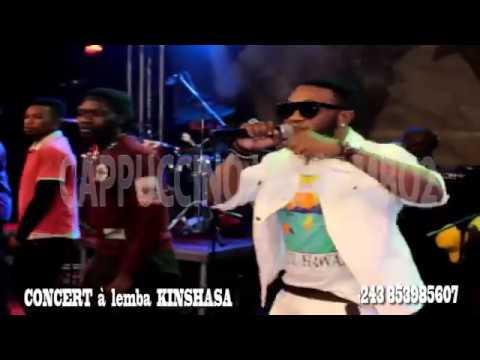 Cappuccino Lbg concert à lemba Kinshasa plein à craquer et rend hommage à Adt Yanki Mpuyi