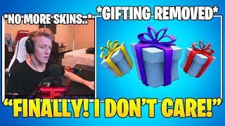 TFUE Reacts TO Gifting System *REMOVED* From Fortnite.. (Fortnite FUNNY & Daily Best Moments)