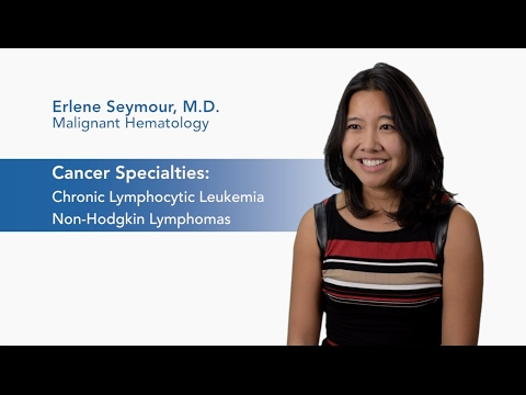 Meet Dr. Erlene Seymour - Malignant Hematology video thumbnail