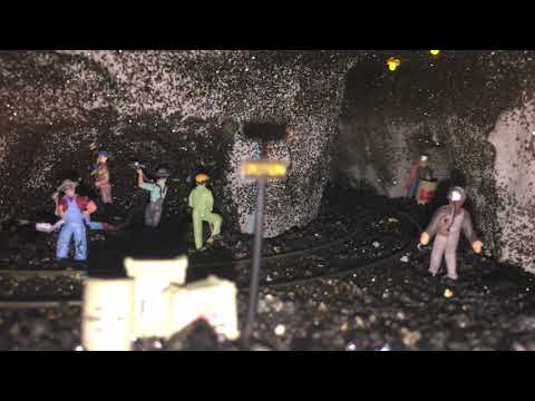 Inside The Coal Mine On The Central West Virginia RR