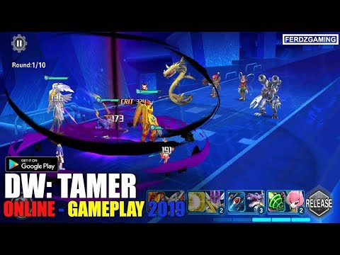 Digimon World Android (DW: Tamers) Gameplay - Android/iOS - ENGLISH 2019