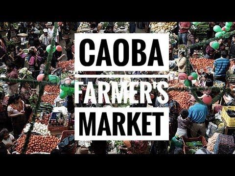 Caoba Farmer's Market-Antigua, Guatemala