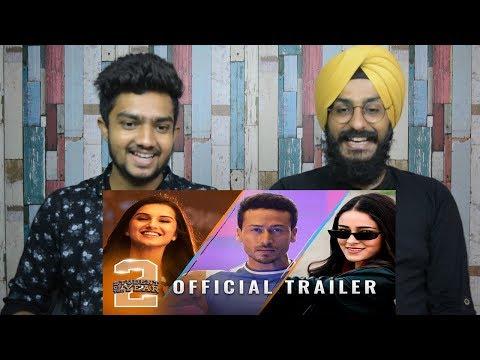Student Of The Year 2 - Trailer REACTION | Tiger Shroff | Tara | Ananya | Parbrahm Anurag