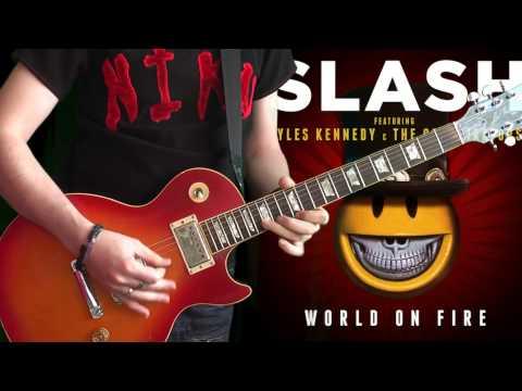 Slash & Myles Kennedy - World On Fire (full album guitar cover!!) by Niko