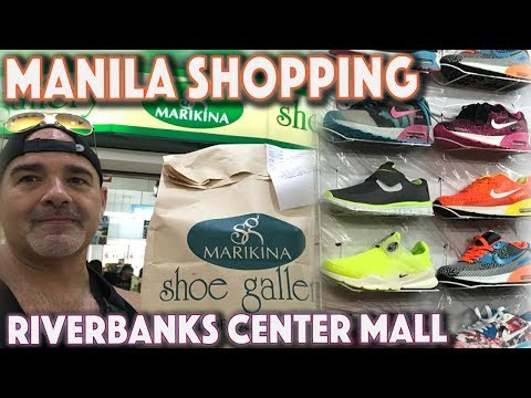 MANILA'S RIVERBANKS CENTER | NIKE, ADIDAS, PUMA RETAIL OUTLET SHOPPING MALL PHILIPPINES