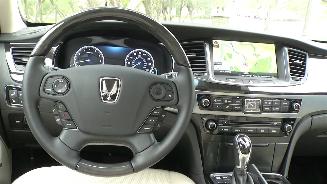 Marvelous 2016 Hyundai Equus Interior Design | AutoMotoTV   YouTube