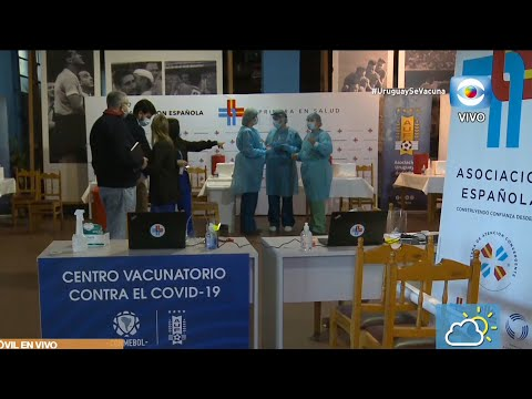 Móvil: Vacunación con Sinovac en la AUF