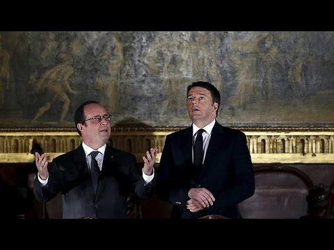 Renzi Ve Hollande AB-Türkiye Ilişkisini Değerlendirdi