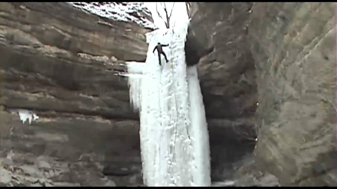 Fall Winter Wallpaper Free Starved Rock St Louis Canyon Ice Fall Climbers Youtube