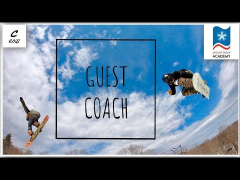 GUEST COACHING MOUNT SNOW ACADEMY SPRING CAMP DAY 1