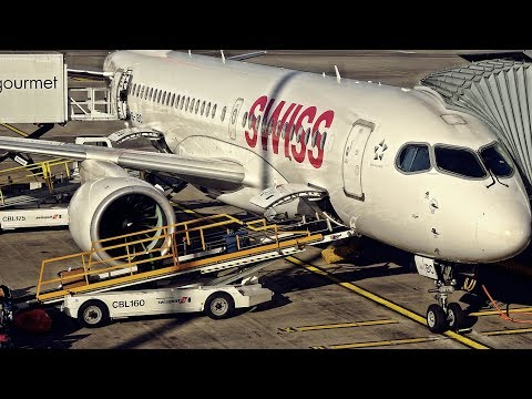 I FLEW TO OSLO TODAY! | SWISS BUSINESS CLASS | ZRH-OSL | BOMBARDIER CS100