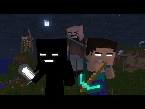 """""""Look at me now"""" - Herobrine's story (A Minecraft Music Video ♫)"""