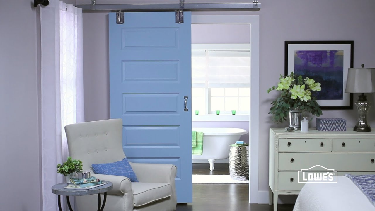 Bon DIY Sliding Door Ideas   YouTube