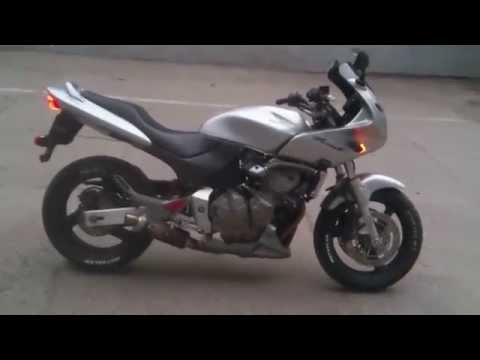 honda hornet 600 s exhaust youtube. Black Bedroom Furniture Sets. Home Design Ideas