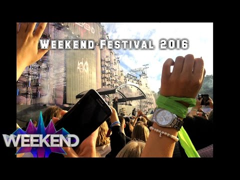 Weekend Festival Sweden 2016 - Vlog