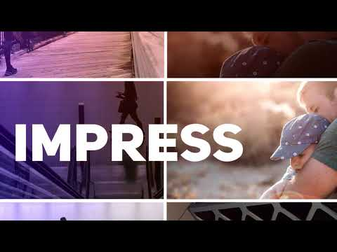 Dynamic Perspective // Rhythmic Slideshow | After Effects Template