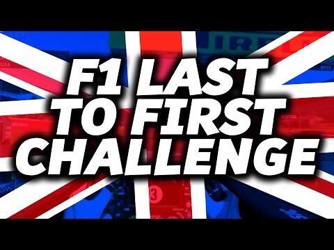 LAST TO FIRST CHALLENGE: British GP Silverstone (Lewis Hamilton)