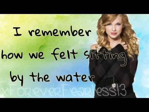 Taylor Swift - Mine; Lyrics