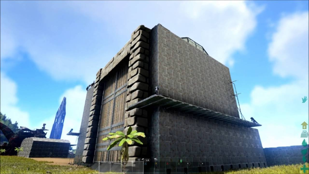 ark xbox one fr la base de turok teaser 16 je visite les construction des abonn s youtube. Black Bedroom Furniture Sets. Home Design Ideas