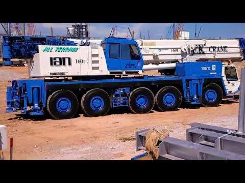 Tadano all terrian Crane AR 1600  160 Tons